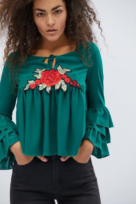 Женская блузка BK-7618-12