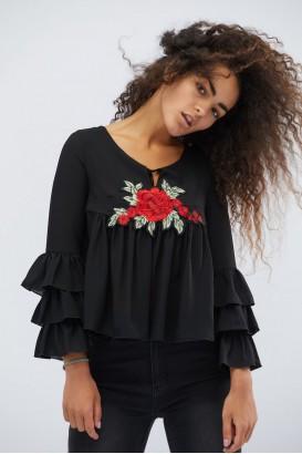 Женская блузка BK-7618-8