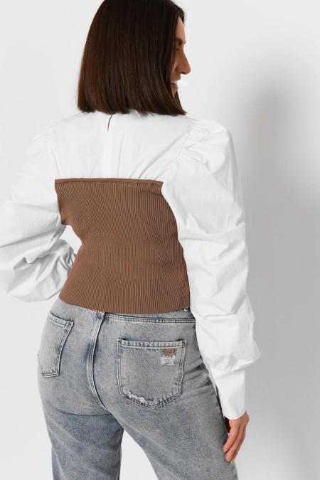 Женская блузка -6583-26