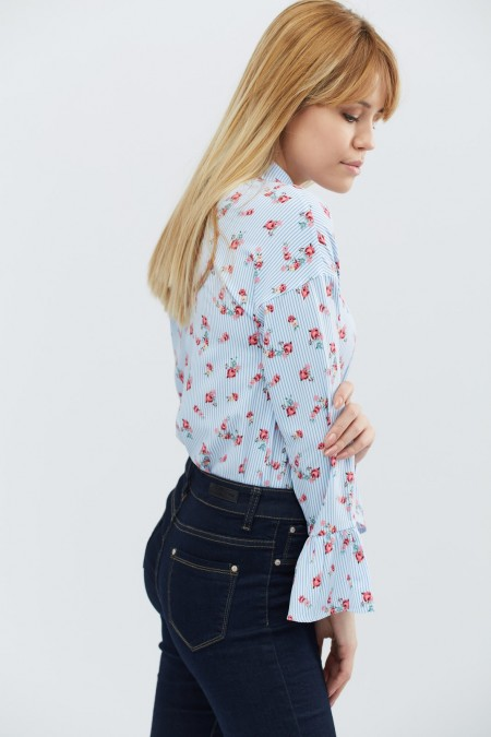 Женская блузка BK-7609-11
