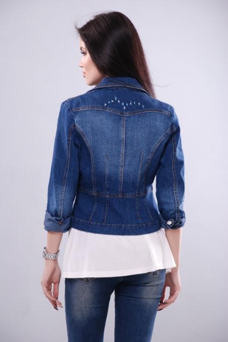 Джинсовая куртка KSU-KSU 30105-35