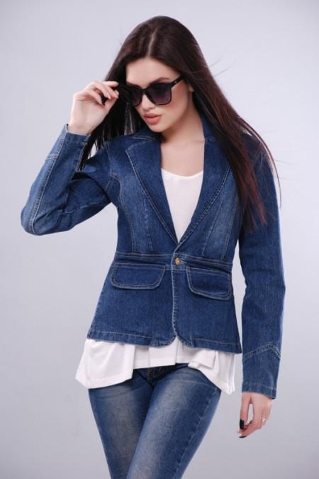 Джинсовая куртка KSU-KSU 30109-35