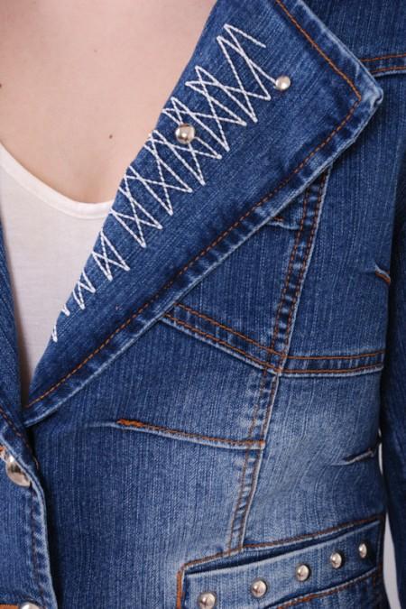 Джинсовая куртка KSU-KSU 30107-35
