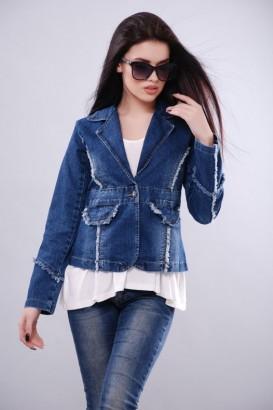 Джинсовая куртка KSU-KSU 30102-35