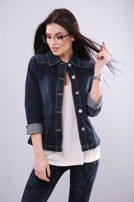Джинсовая куртка KSU-KSU 30106-29