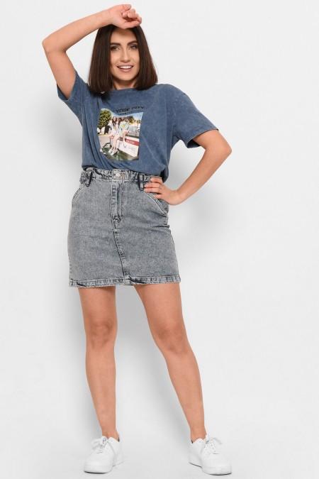 Джинсовая юбка Levure -31862-11